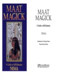 Page 1 A Guide to Self. Initiation NEMA MAAT MAGICK A Guide to Self-Initiation NEMA ...
