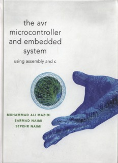 The AVR Microcontroller and Embedded System by Muhammad Ali Mazidi