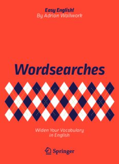 Wordsearches: Widen Your Vocabulary in English