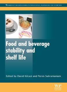 Food and Beverage Stability and Shelf Life (Woodhead Publishing Series in Food Science, Technology and Nutrition)