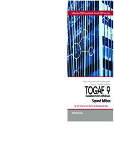 TOGAF 9 Foundation Part 1 Exam Preparation Course in a Book for Passing the TOGAF 9 Foundation Part 1 Certified Exam - The How To Pass on Your First Try Certification Study Guide - Second Edition