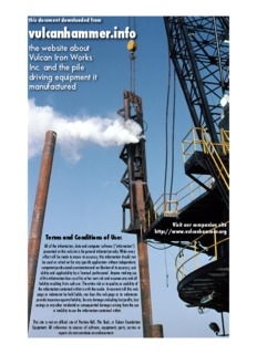 Design and Construction of Driven Pile Foundations