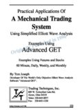 Practical Applications of a Mehanical Trading System
