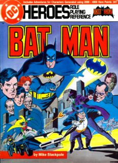 Page 1 Page 2 Page 3 CREDITS BATMAN @ 1986 DC Comics, Inc. All Rights Reserved Produced ...