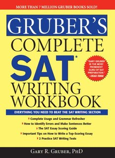 Gruber's Complete SAT Writing Workbook - Ampleforth College
