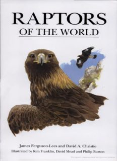 Raptors of the World: An Identification Guide to the Birds of Prey of the World