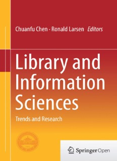 Library and Information Sciences