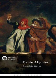 Complete Works of Dante Alighieri