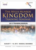 Myles Munroe International © Copyright 2013