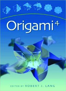 Origami 4 (Origami (AK Peters))