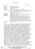 TASH Newsletter, 2000-2001
