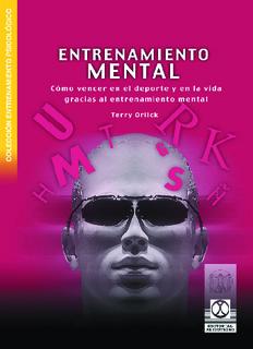 Entrenamiento Mental.pdf - Instituto de Medicina Deportiva de Cuba