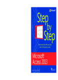 Microsoft Access 2013 Step by Step ebook - Home