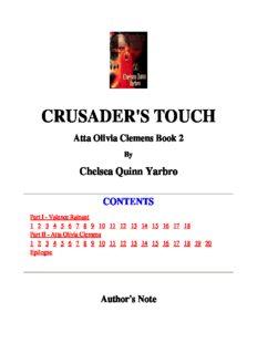 Chelsea Quinn Yarbro - Olivia 2 - Crusader's Torch