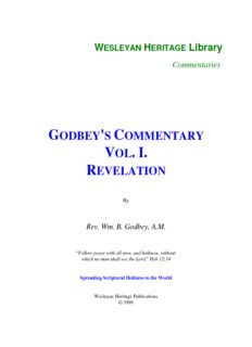 Godbey's Commentary - Revelation
