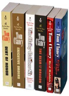 Tom Clancy's Jack Ryan Books 07-12