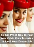 15 Fail-Proof Tips To Pass Your Cabin Crew Interview & Land Your Dream Job Cabin Crew ...