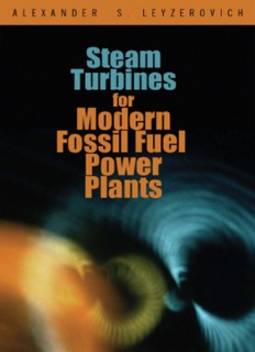Steam Turbines for Modern Fossil Fuel Power Plants