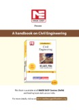 A handbook on Civil Engineering - MADE EASY Publications - Gate