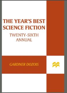 The Year's Best Science Fiction Twenty-Sixth Annual