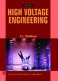 High Voltage Engineering By C.L.Wadhwa