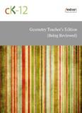 Geometry, Teacher's Edition