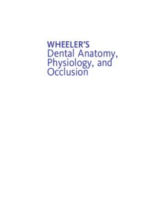 Wheeler's Dental Anatomy, Physiology and Occlusion, 10th Ed