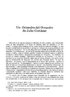 Un Octaedro del Octaedro de Julio CortAzar