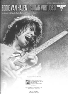 Eddie Van Halen -- Guitar Virtuoso: Includes 9 Classic Solo Guitar Instrumentals (Authentic Guitar TAB)