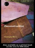 Norris - Deconstruction -Theory and Practice