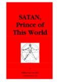 SATAN, Prince of This World