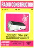 'wah -wah' pedal unit