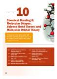 Molecular Shapes, Valence Bond Theory, and Molecular Orbital Theory