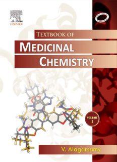 Textbook of medicinal chemistry Volume 1