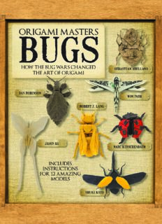 Origami Masters: Bugs: How the Bug Wars Changed the Art of Origami