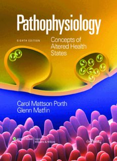 Pathophysiology: Concepts of Altered Health States, 8th Edition
