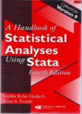 A Handbook of Statistical Analyses Using Stata, Fourth Edition
