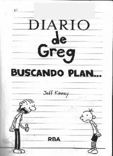 Diario de Greg: Buscando plan