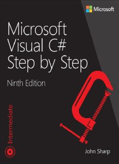 Microsoft Visual C# Step by Step, Ninth Edition