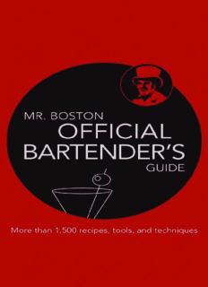 Mr. Boston: Official Bartender's Guide (Mr. Boston: Official Bartender's & Party Guide)