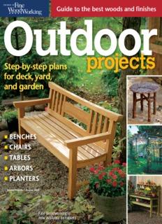 Gardens Outdoor Fine Woodworking