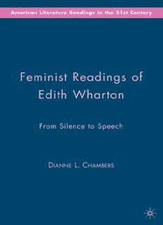 Feminist Readings of Edith Wharton: From Silence to Speech (American Literature Readings in the 21st Century)