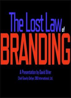 The Lost Law of Branding - Digital Spark Marketing
