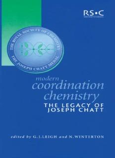 Modern coordination chemistry 2002 – Leigh & Winterton