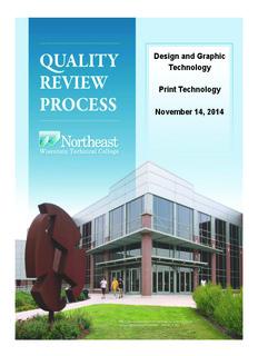 Print Technology & Graphic Design Technology Binder