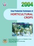Crop Production Techniques of Horticultural Crops