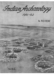 Indian Archaeology 1961-62 A Review - Archaeological Survey of