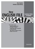 New ENGLISH FILE Vocabulary Checker for Beginner