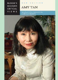 Amy Tan (Bloom's Modern Critical Views)