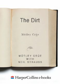 The Dirt: Confessions of the World's Most Notorious Rock Band